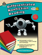 Differentiated nonfiction reading  gr 6