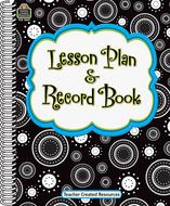 Crazy circles lesson plan  record  book