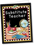 Substitute teacher pocket folder tc
