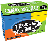 I have who has gr 1-2 academic  vocabulary games
