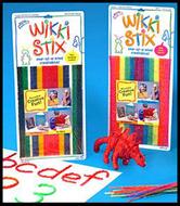 Wikki stix primary colors
