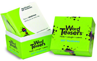 Wordteasers flash cards sat  vobaculary