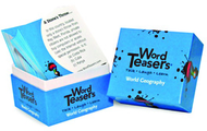 Wordteasers flash cards world  geography