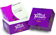 Wordteasers flash cards origins