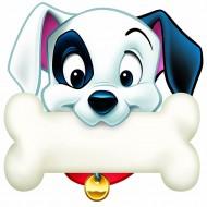 101 dalmatians dog bone paper cut  outs