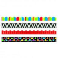 Stripes & shapes border variety  pack