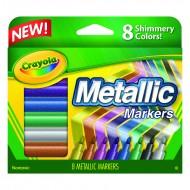 Crayola metallic markers 8 colors