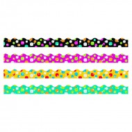Super dots sparkle plus border  variety pack