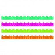 Polka dots border variety pack