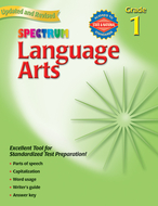 Spectrum language arts gr 1