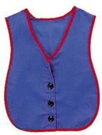 Manual dexterity vests button vest