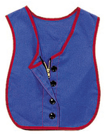 Manual dexterity button zipper vest