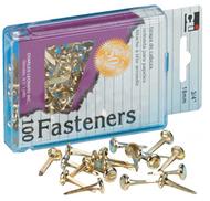 Brass paper fasteners 1 1/2 100/box