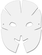 Dimensional paper masks 40pk