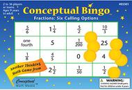 Conceptual bingo fractions