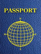 Blank passports pack of 12
